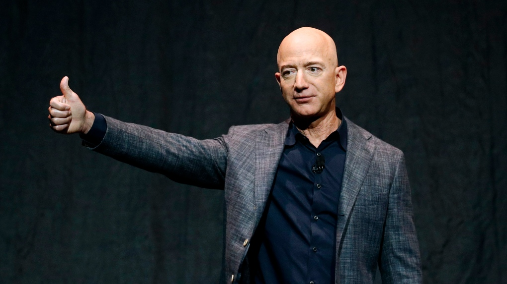 Jeff Bezos stepped down as the CEO